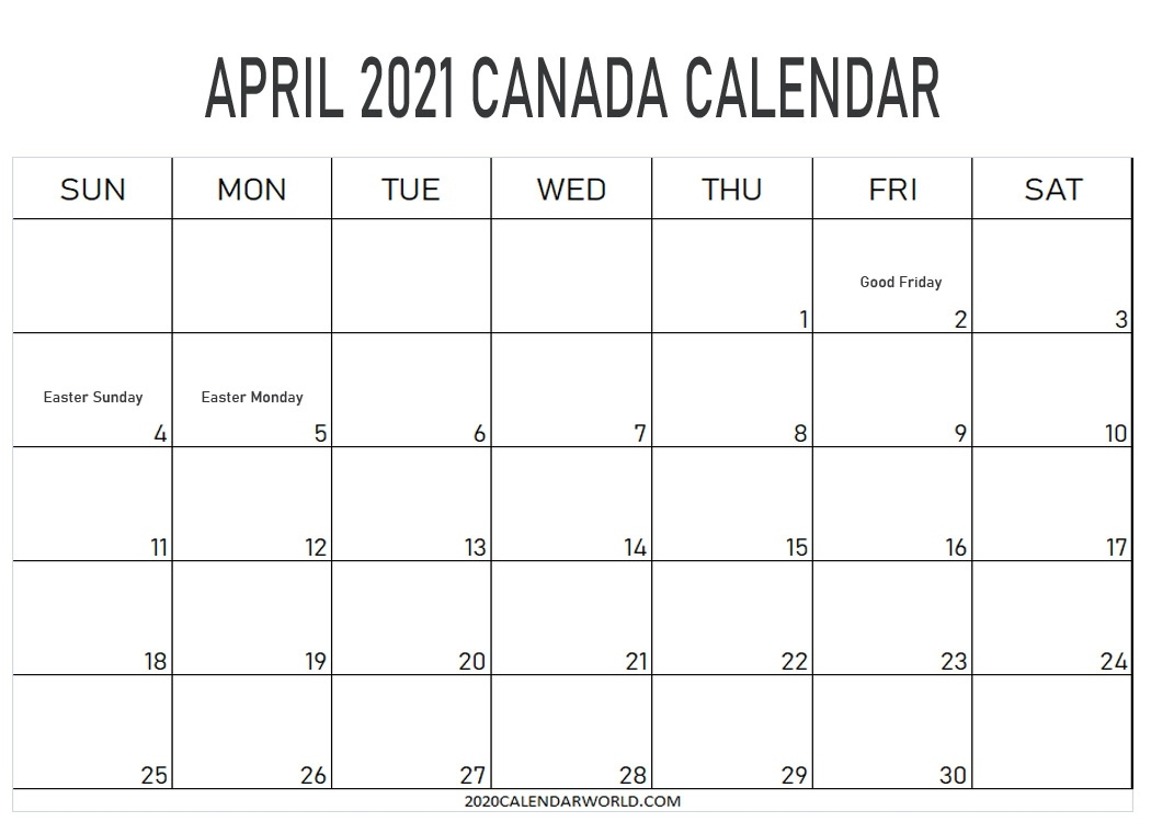 17+ Free April 2021 Calendar Printable- All Templates Here Calendar November 2020 To April 2021
