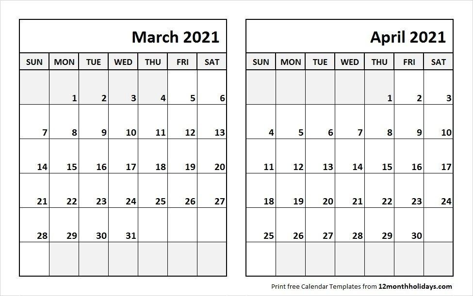 20+ April 2021 Calendar - Free Download Printable Calendar Templates ️ Calendar November 2020 To April 2021