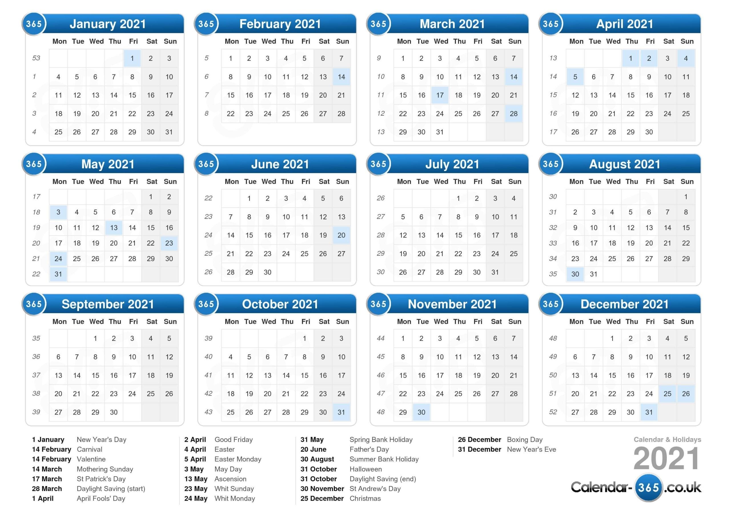 2020 To 2021 Excel Calendar | Printablecalendarsfor2021 Show Me July 2021 Calendar