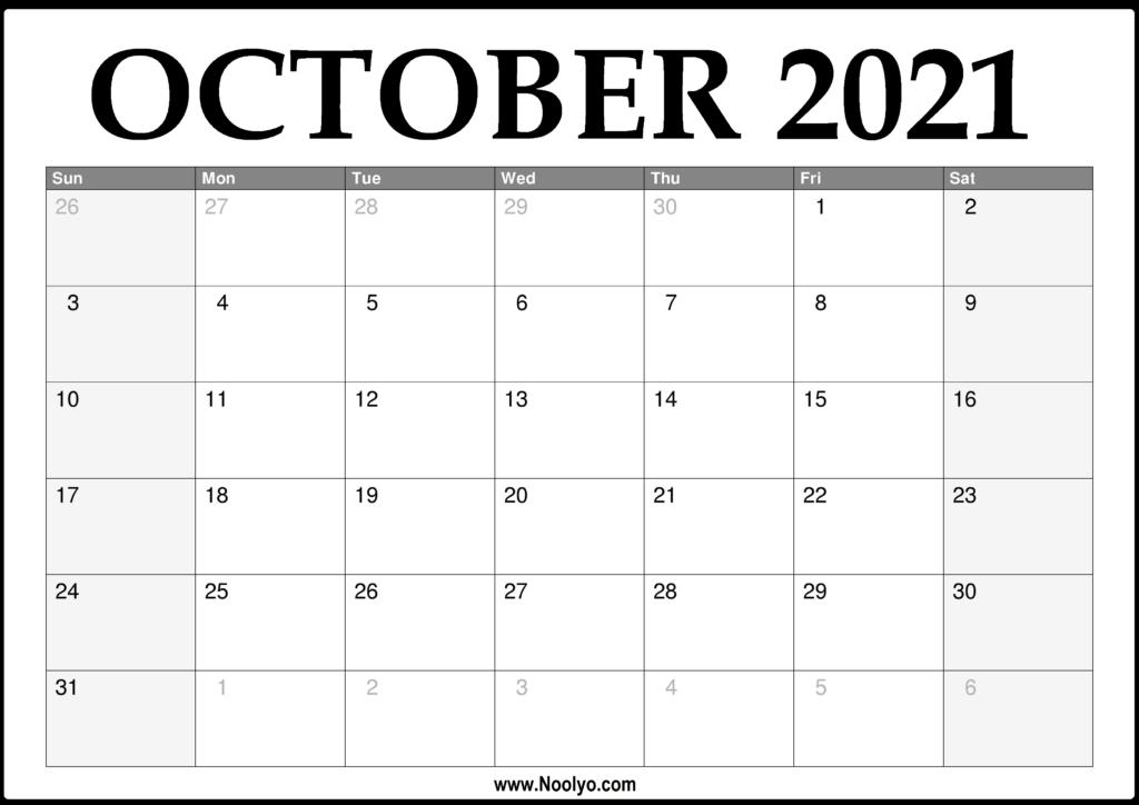 2021 Activity Calendar Printable   Calendar Printables Free Blank October 2020 To February 2021 Calendar