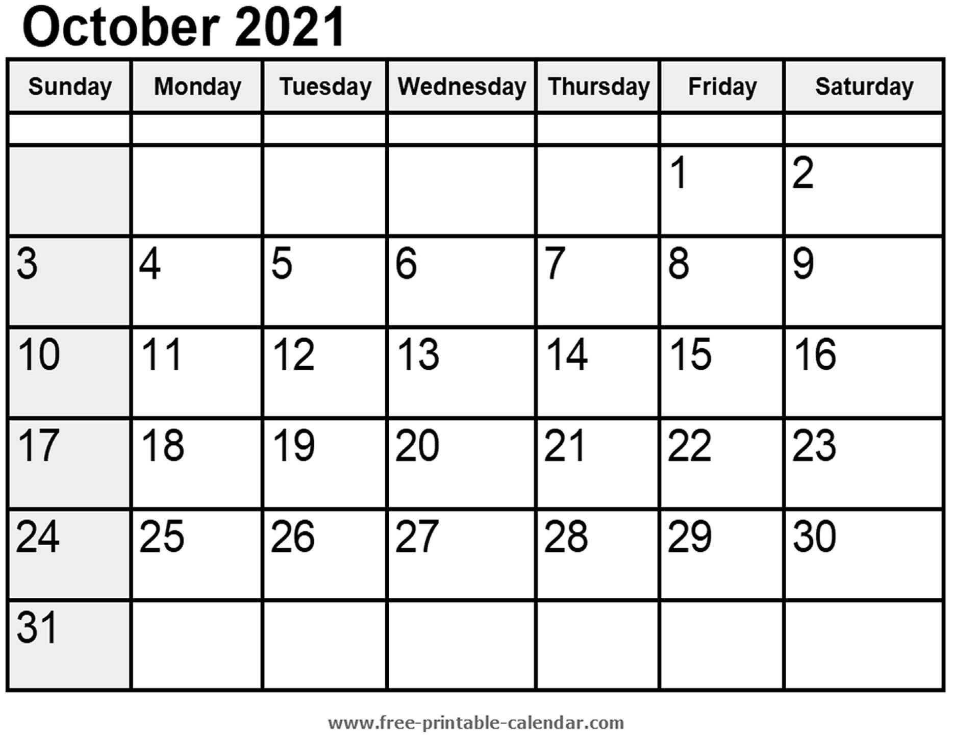 2021 Printable Calendar From October Thru December   Calendar Printables Free Blank October 2020 To February 2021 Calendar
