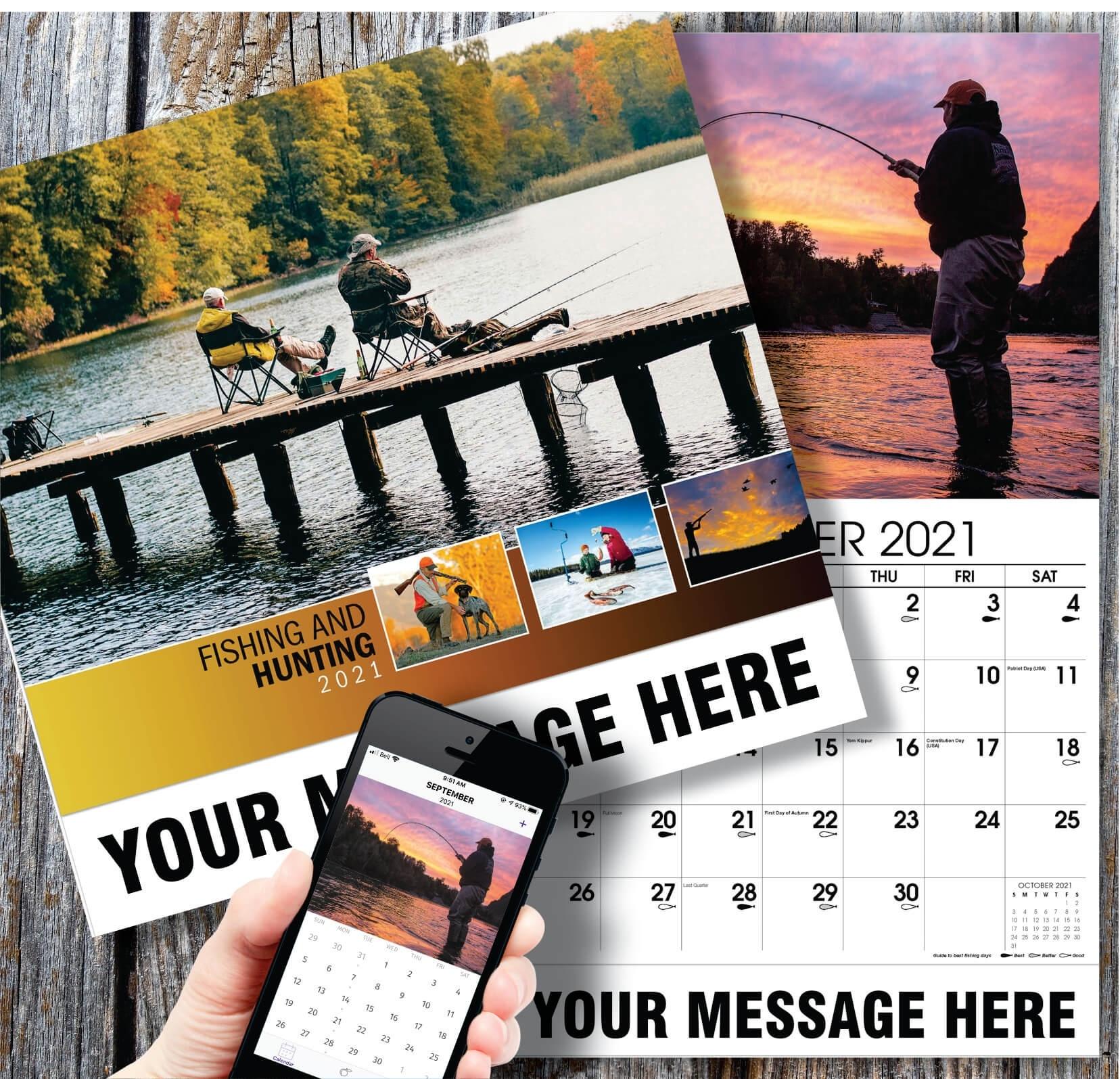2021 Promotional Advertising Calendar   Fishing And Hunting June 2021 Fishing Calendar