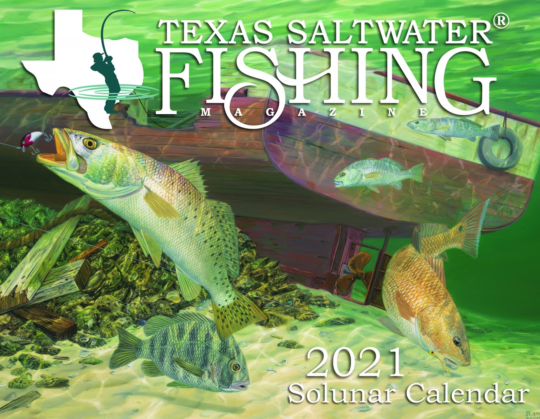 2021 Solunar Calendar - Texas Saltwater Fishing Magazine June 2021 Fishing Calendar