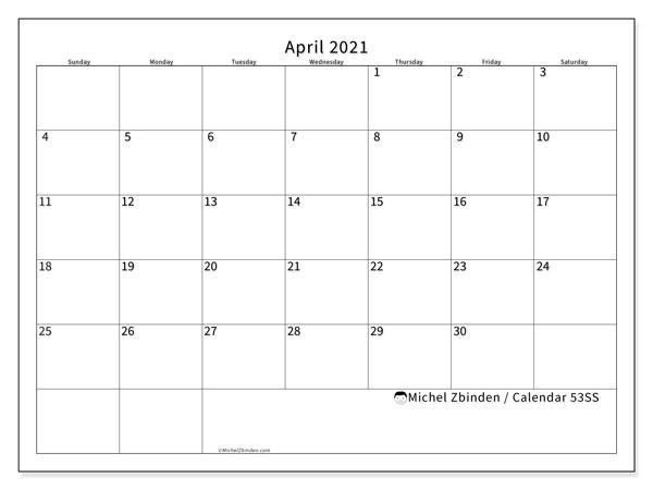 April 2021 Calendars - Ss - Michel Zbinden En Wiki Calendar August 2021