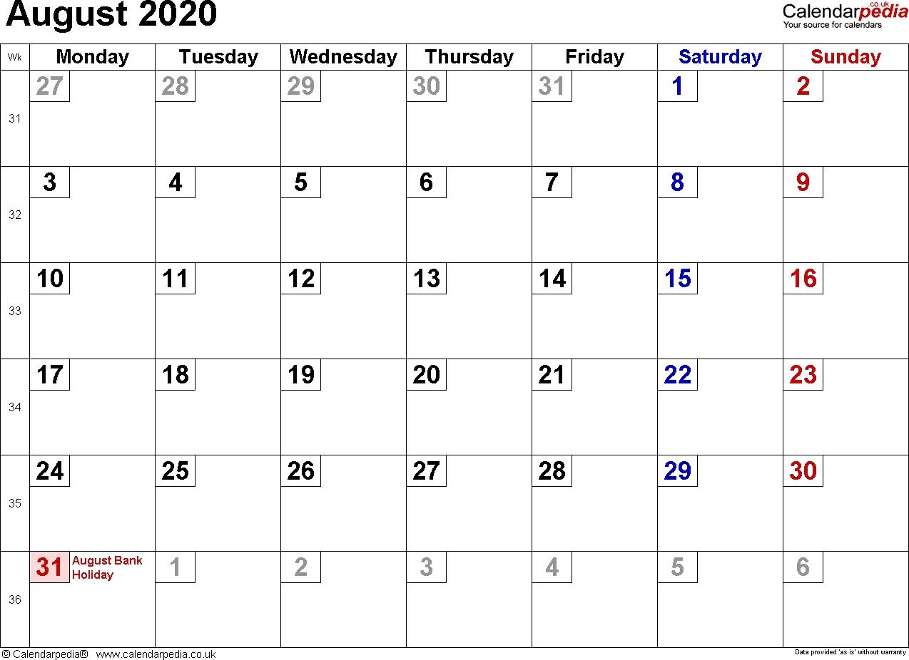 August 2020 Calendar With Holidays | 2020Calendartemplates October 2021 Calendar With Holidays Philippines