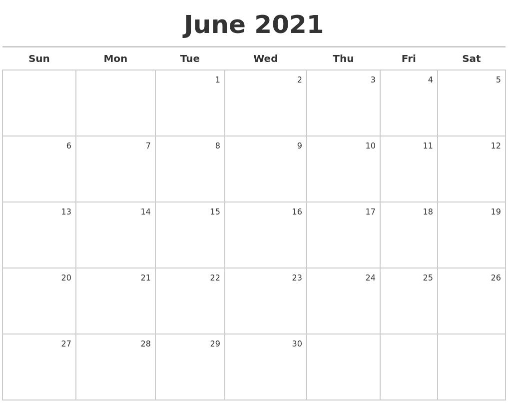 August 2021 Calendars To Print Printable Calendar June July August 2021
