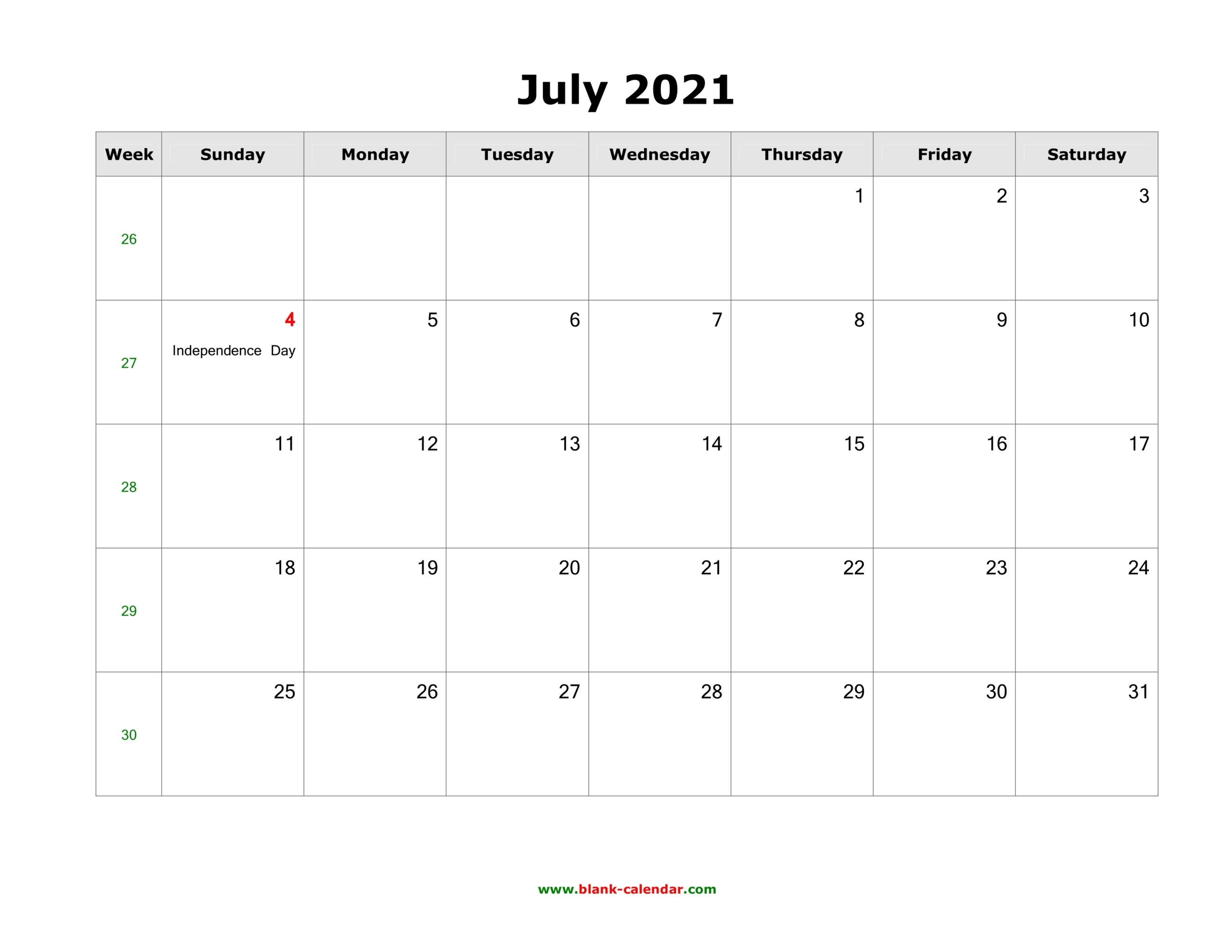 Calendar 2021 July   Printable Calendars 2021 July 2021 Tithi Calendar