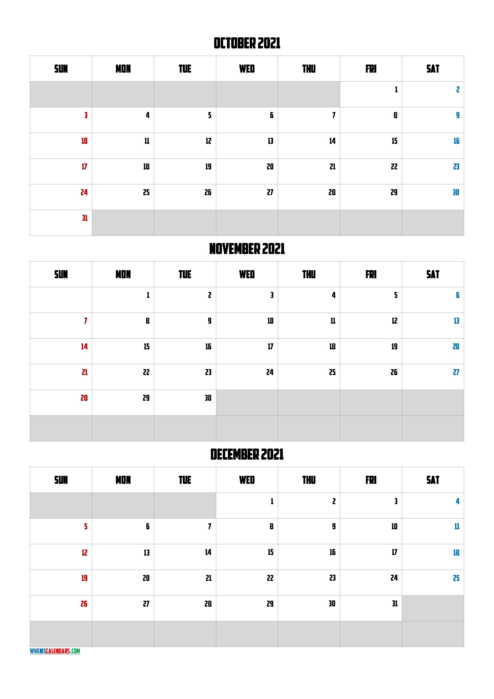 Calendar April May June 2021 [Q1-Q2-Q3-Q4] | Free Printable 2020 Calendar With Holidays October November December 2021 Calendar
