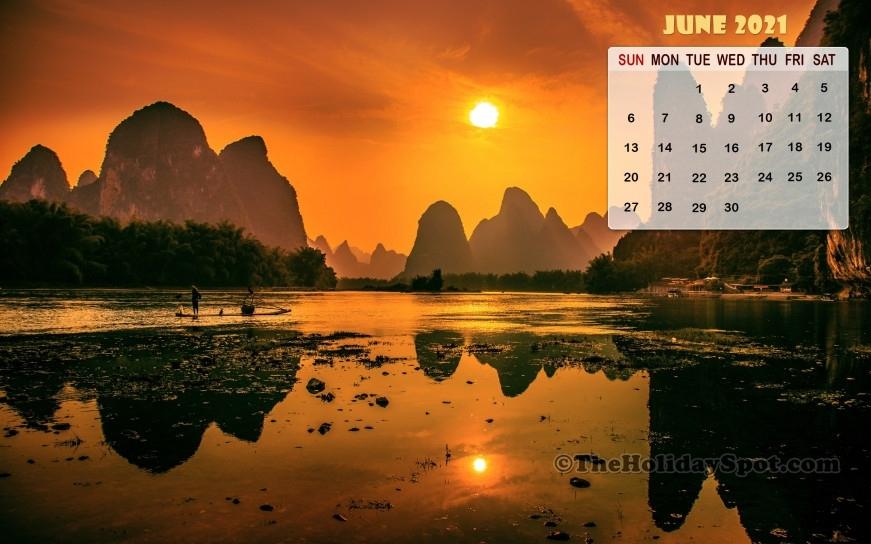 Calendar Wallpaper - June 2021 - 960X544 What Will Happen In June 2021