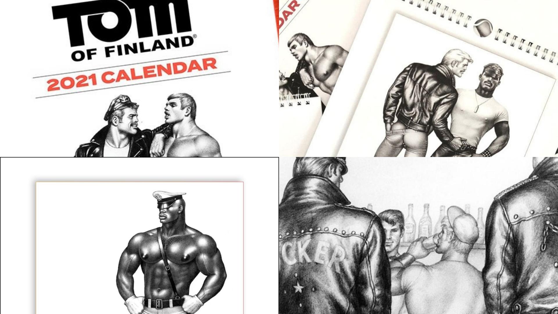 Check Out The New Tom Of Finland 2021 Calendar! - Bear World Magazine Key West Calendar November 2021