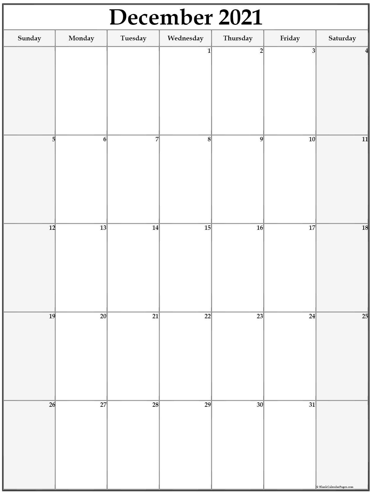 December 2021 Vertical Calendar   Portrait July 2021 Vertical Calendar