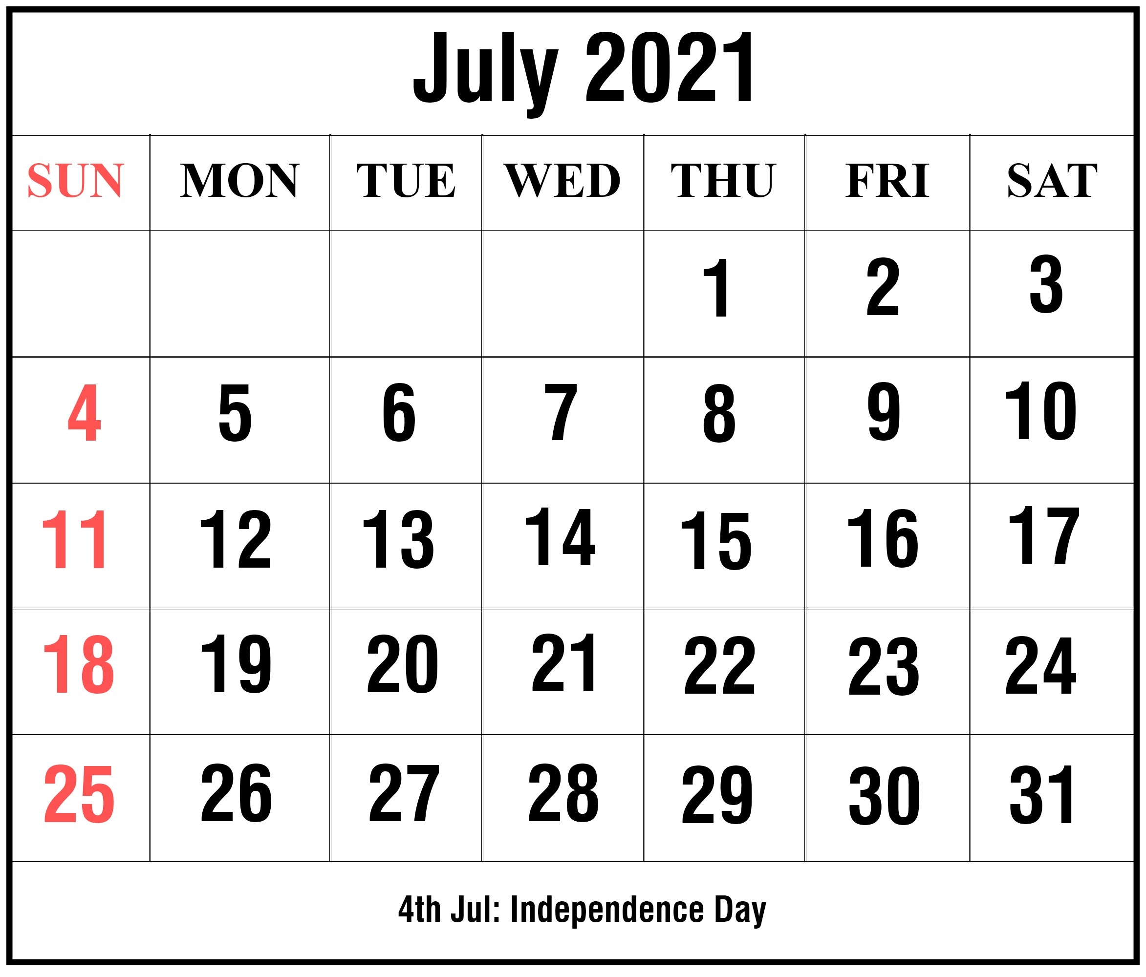 Free Editable Calendar 2021 July For All Users   Free Printable Calendar Monthly July 2021 Tithi Calendar