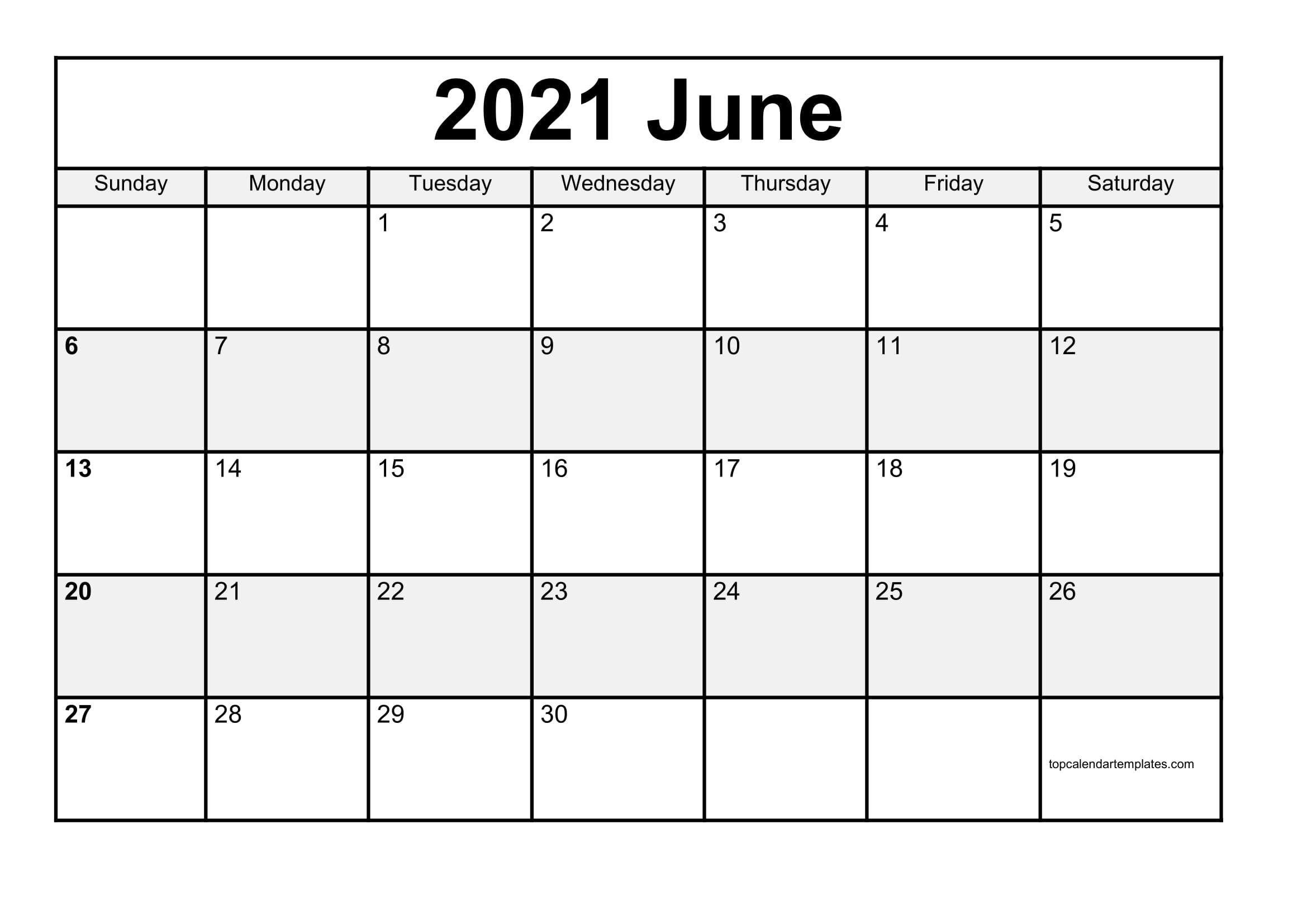 Free June 2021 Printable Calendar In Editable Format June 2021 Calendar Panchang