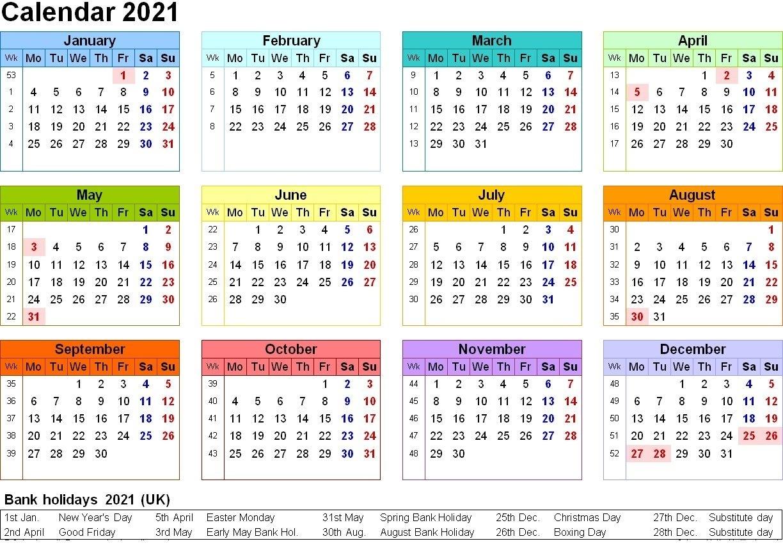 Free Printable 2021 Calendar Template 12 Months | Calendar Shelter In 2020 | Printable Calendar June 2021 Calendar Canada