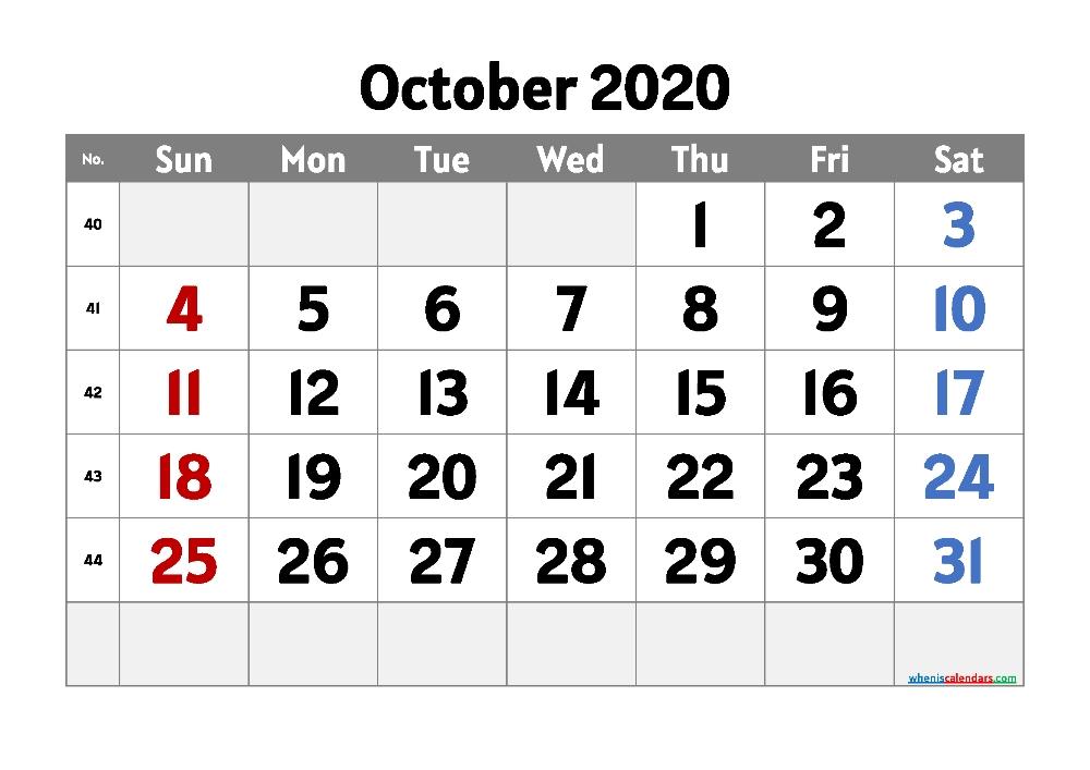 Free Printable Calendar September 2020 (One Month One Page) - Free Printable 2020 Monthly September October November 2021 Calendar