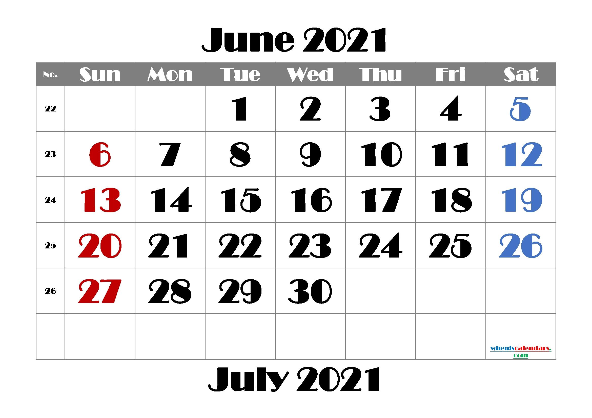 Free Printable June 2021 Calendar   Template M21Broadway1 June 2021 Calendar Printable