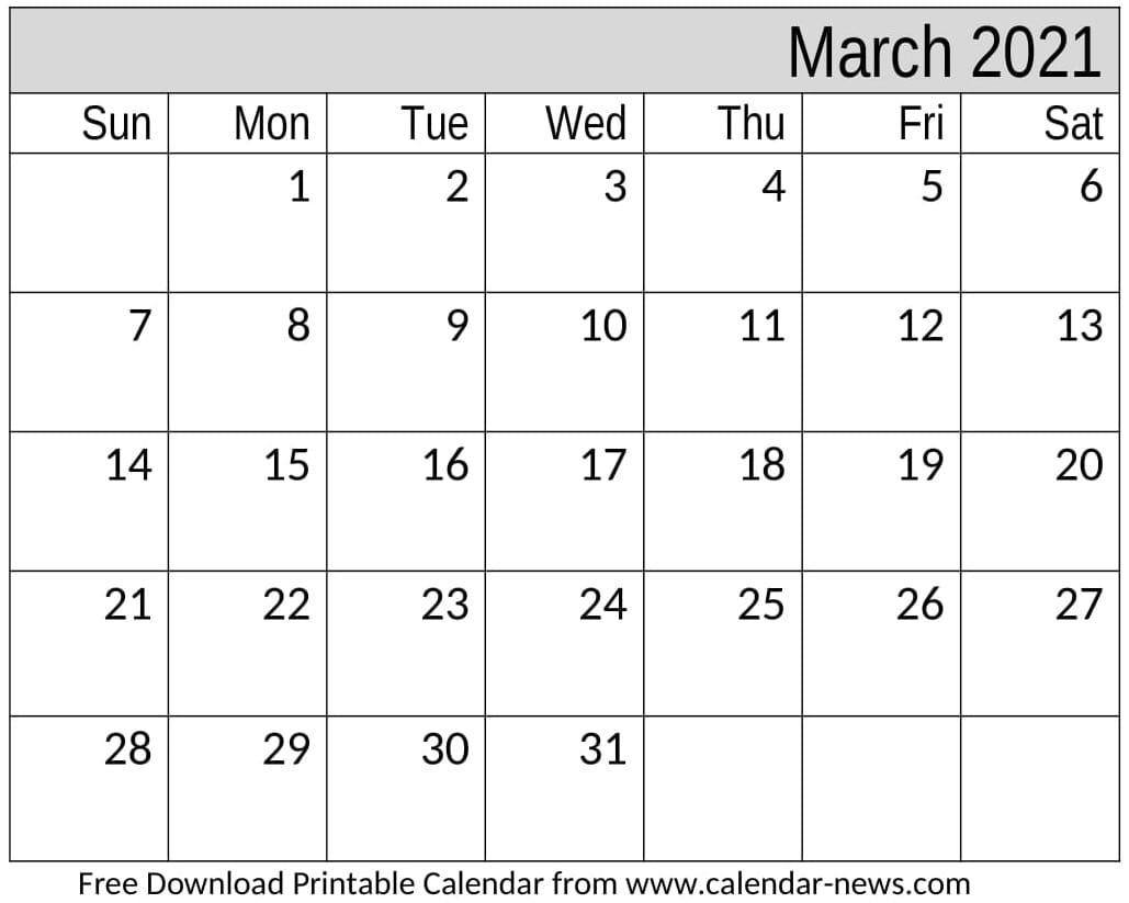 Free Printable September 2020 Calendar With Week Numbers September 2020 To March 2021 Calendar