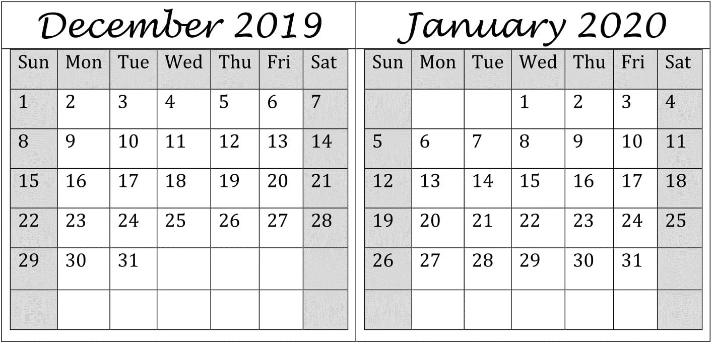 Get 2020 Printable Calendar Full Page 2 December 2020   Calendar Printables Free Blank January Thru December 2021 Calendar