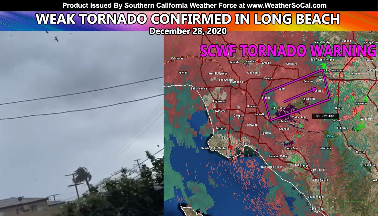 It'S Official: Scwf Finalizes Report That A Very Weak Tornado Hit Long Beach Late December 2020 How Long Until December 2021