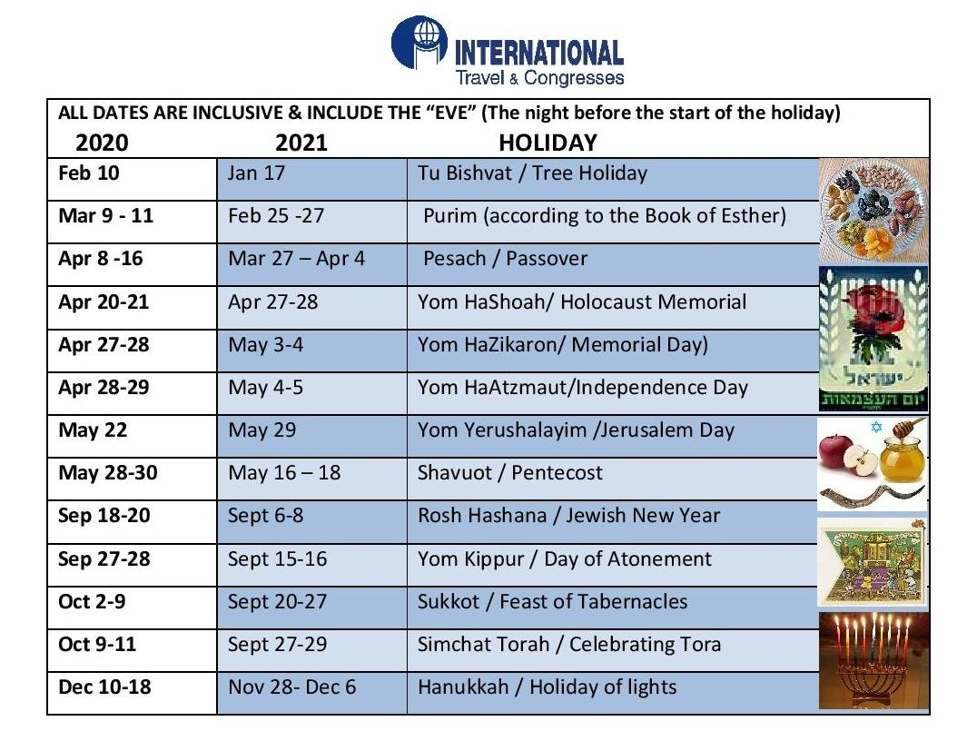 Jewish Holidays   Internationaltravelcongresses August 2021 Jewish Calendar
