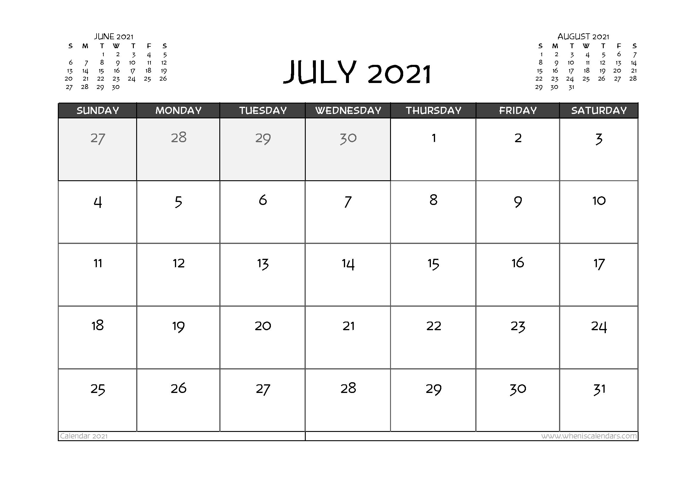 July 2021 Calendar With Holidays Australia | April Calendar July 2021 Calendar Vertical