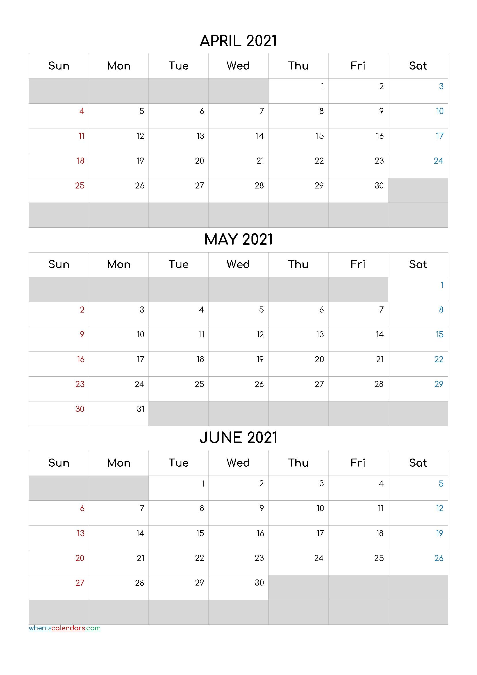 July August September 2021 Calendar Printable Free [Q1-Q2-Q3-Q4] Printable Calendar June July August 2021