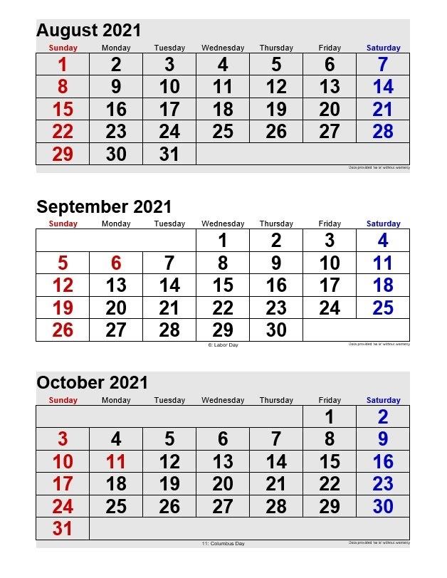 Monthly Calendars | 2021Printablecalendar September 2021 Calendar Singapore