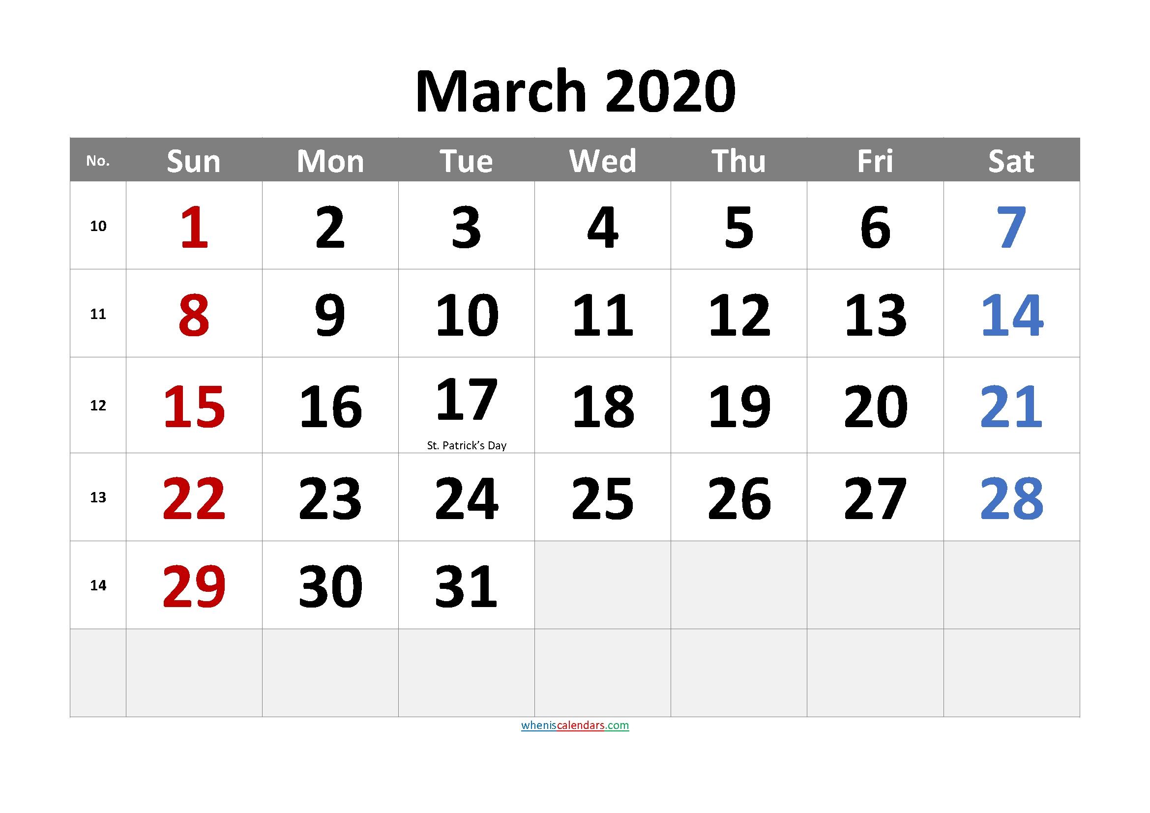 November 2020 Printable Calendar With Holidays - 6 Templates - Free Printable 2021 Monthly November 2020 - March 2021 Calendar