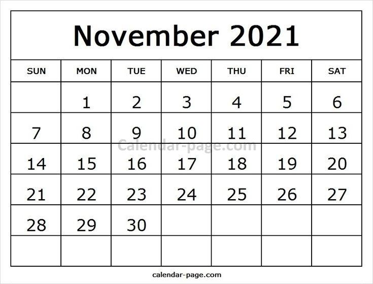 November Calendar 2021 Printable Template   October Calendar, July Calendar, September Calendar September October November 2021 Calendar