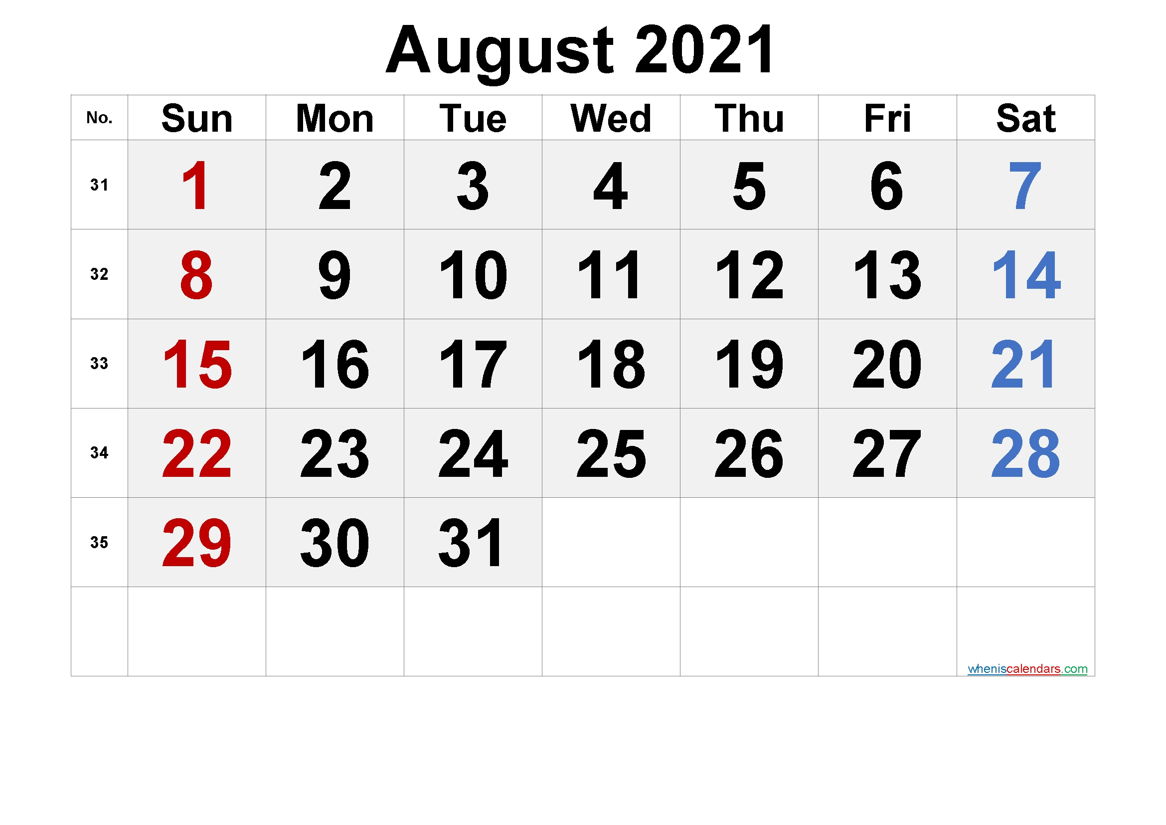 Printable June 2021 Calendar With Holidays - 6 Templates | Free Printable 2020 Monthly Calendar August 2021 Calendar With Holidays Usa