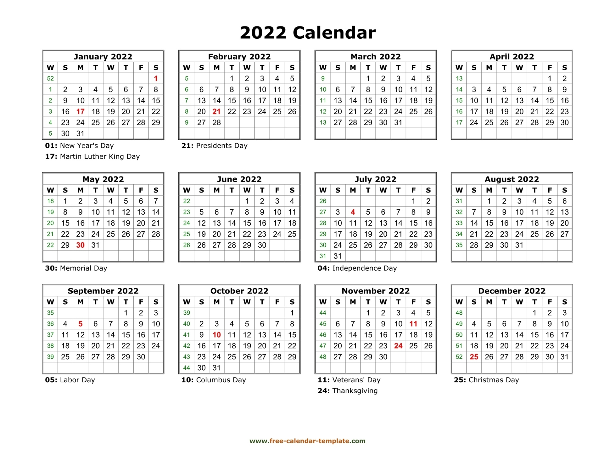 Printable Monthly 2022 Calendar   Printable Calendar 2021 June 2021 Calendar Copy And Paste