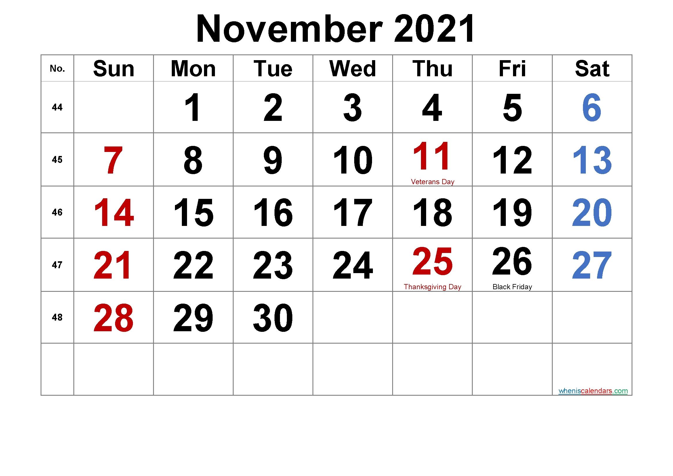 Printable Pdf Free Printable 2021 Calendar With Holidays Printable September 2021 Calendar Printable Wiki