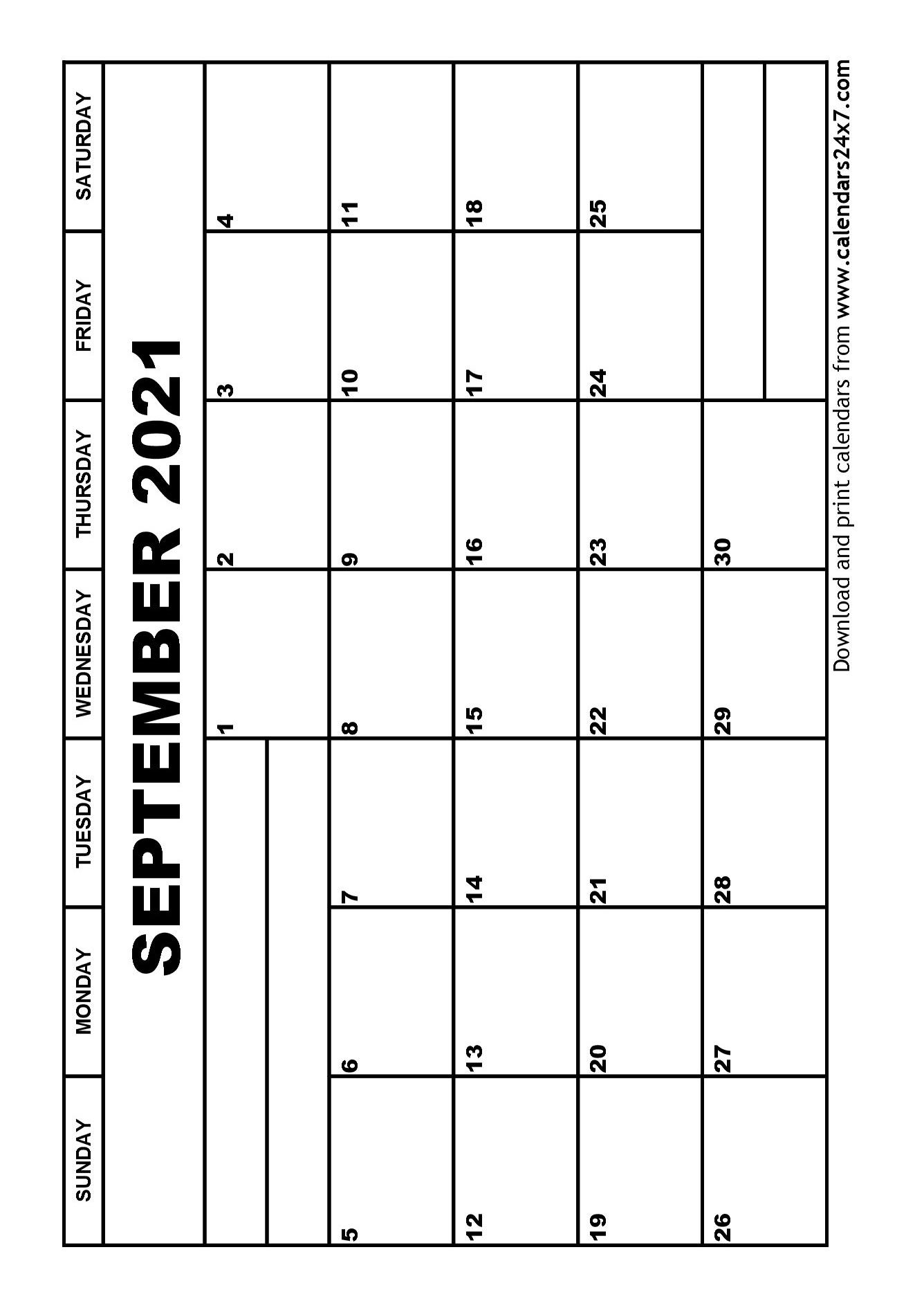 September 2021 Calendar & October 2021 Calendar September 2020 To March 2021 Calendar