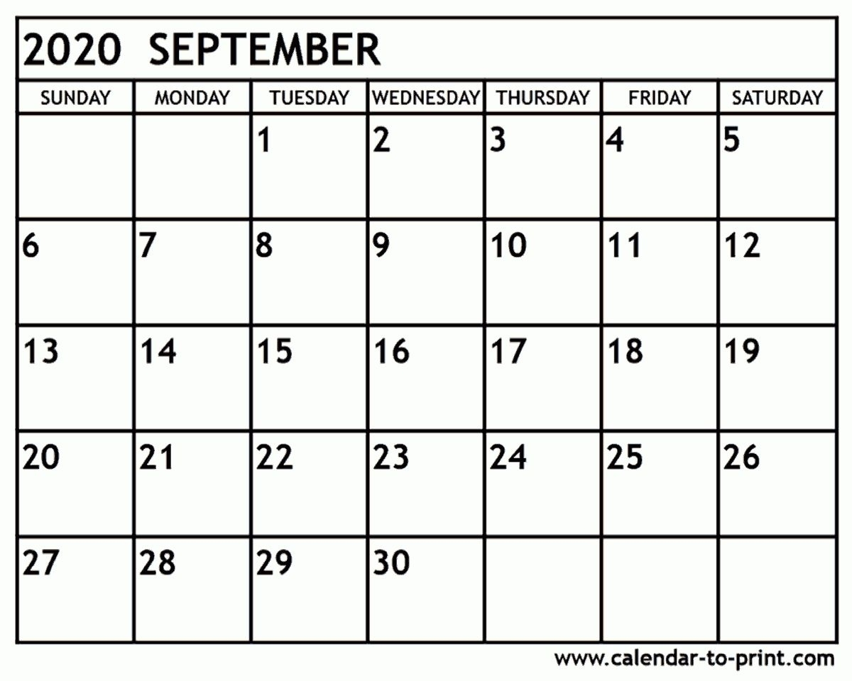 September 2021 Calendar Printable Template | Calendar Printables Free Blank Printable September 2021 Calendar