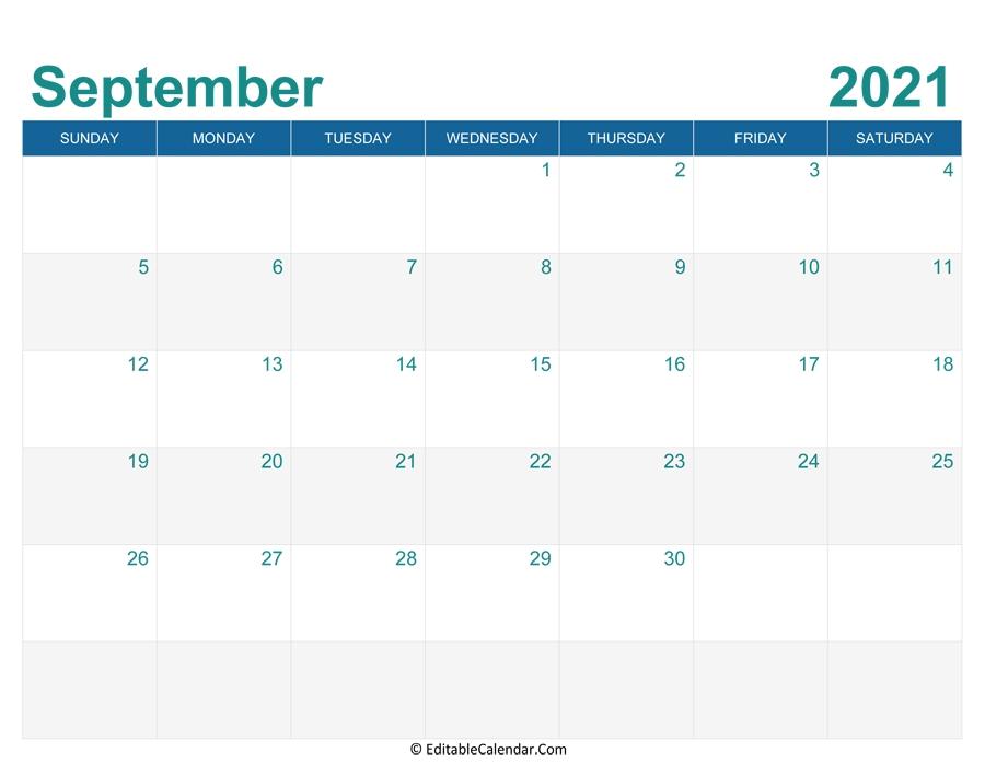 September 2021 Calendar Templates Calendar May To September 2021
