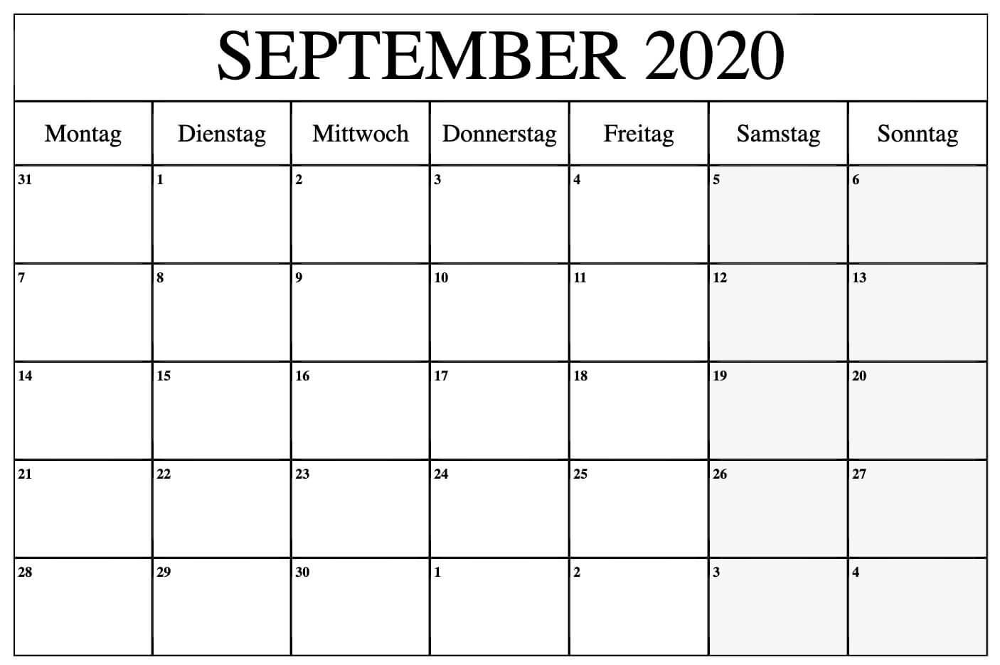 September Kalender 2020 Word - Free Printable 2021 Calendar Templates With Holidays September 2020 To September 2021 Calendar