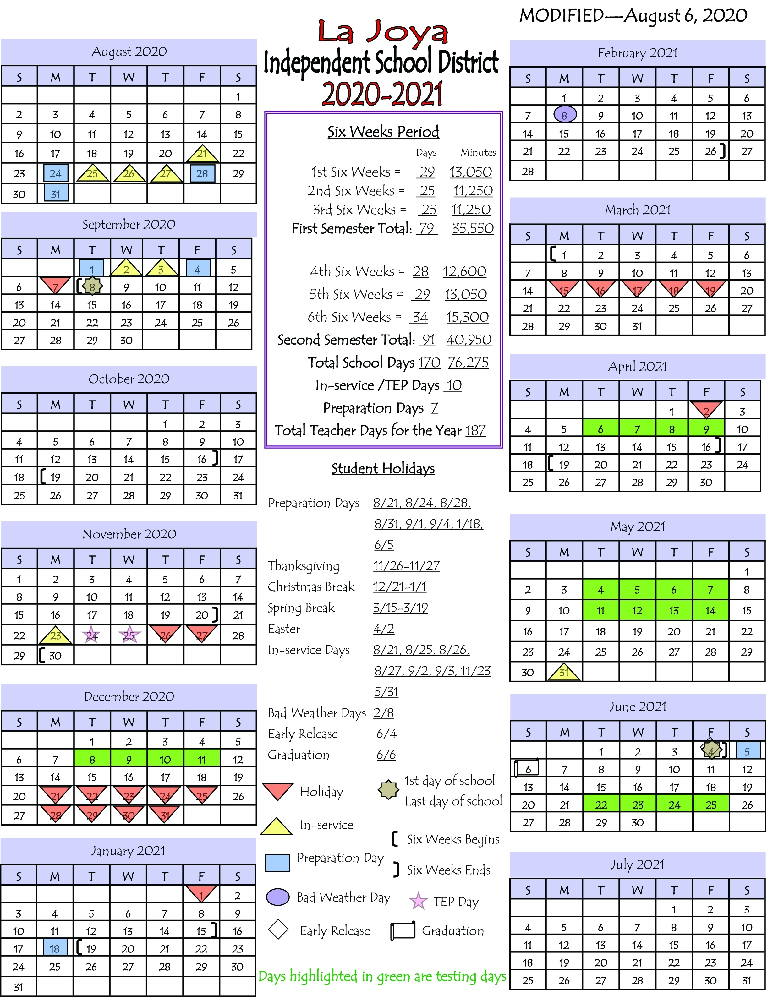 Sharyland Isd Calendar 2021 | 2021 Calendar June 2021 Calendar In Spanish