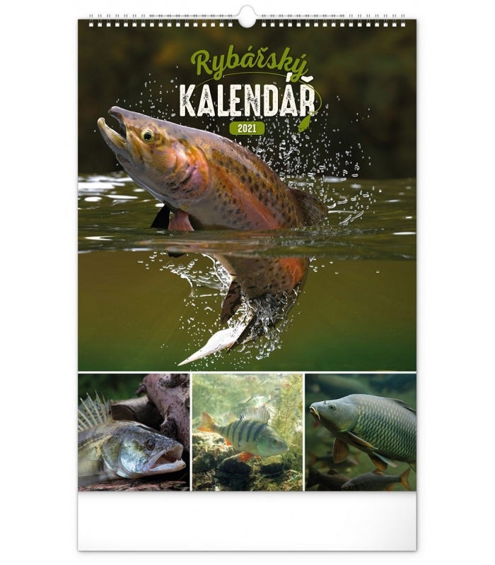 Wall Calendar Fishing Cz 2021 June 2021 Fishing Calendar