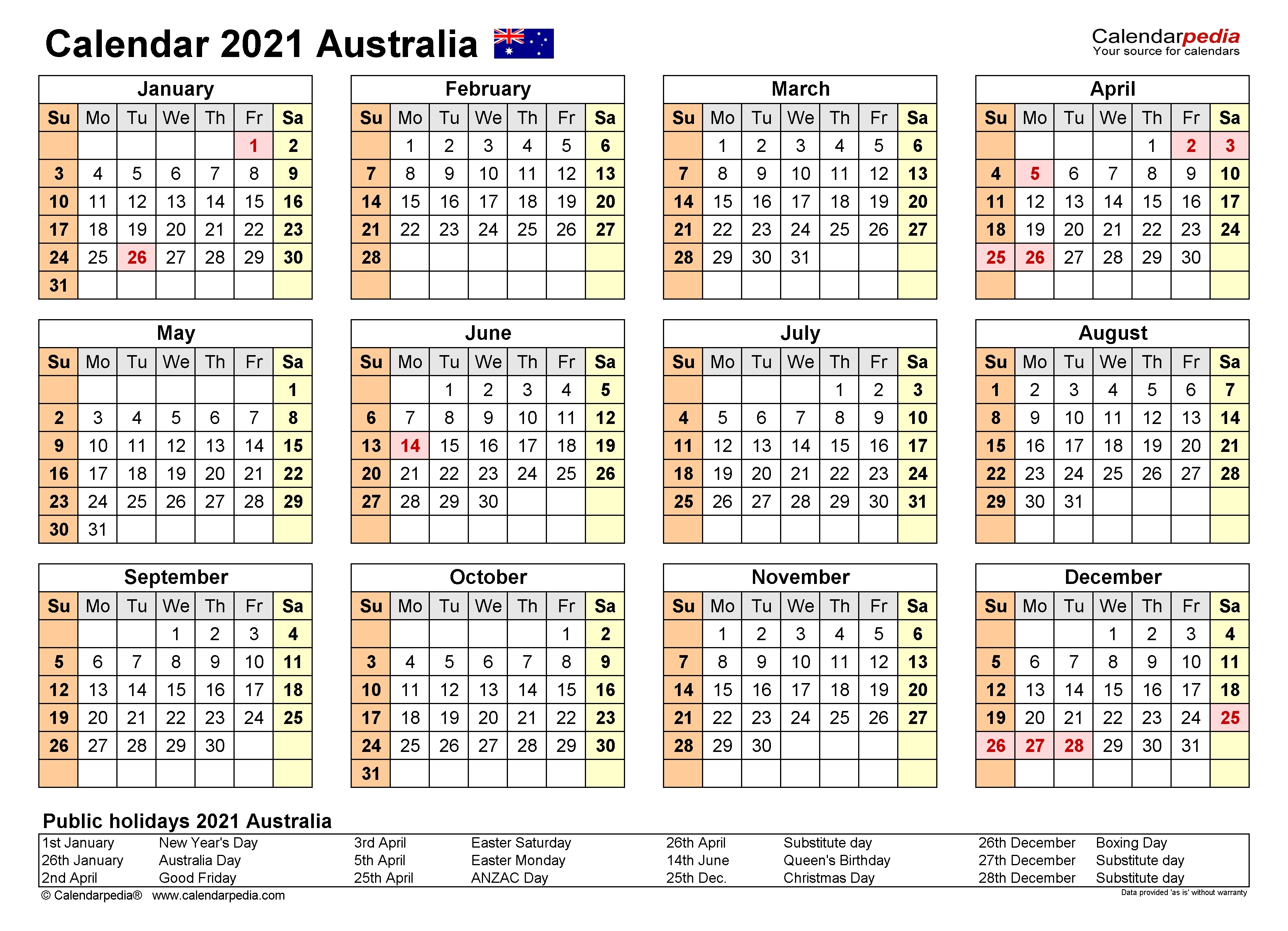 What Australian Financial Year Are We In Currently - Template Calendar Design September 2021 Calendar Printable Wiki