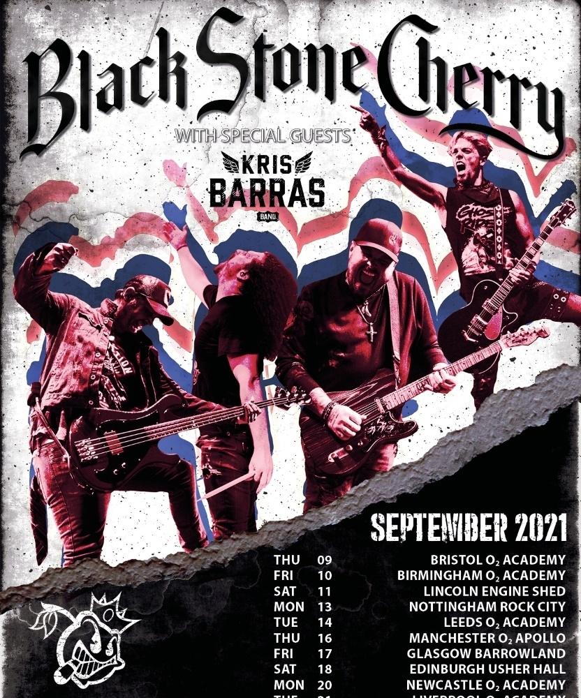 Black Stone Cherry - September 2021 - 23 September 2021 - The Leas Cliff Hall - Event/Gig September 2021 Events