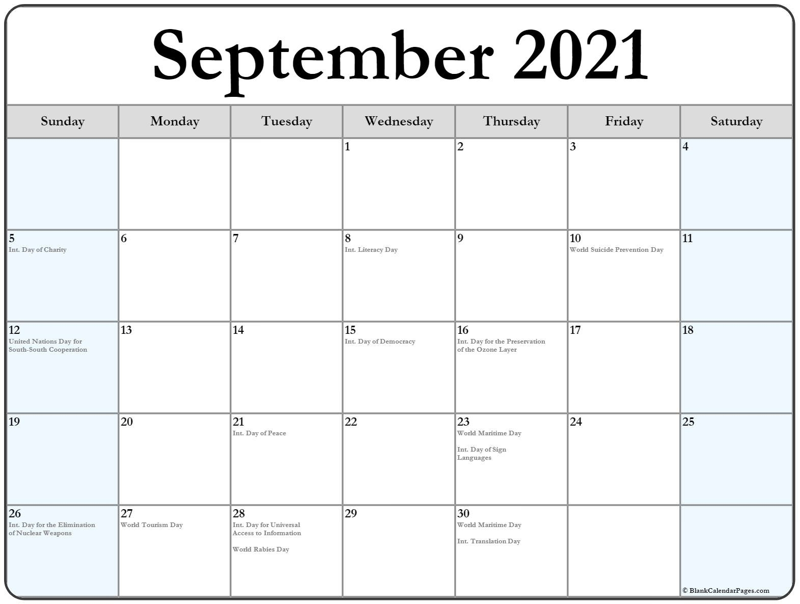 Festive Printable Calendar 2021   Calendar Printables Free Blank Printable Calendar October 2020 To September 2021