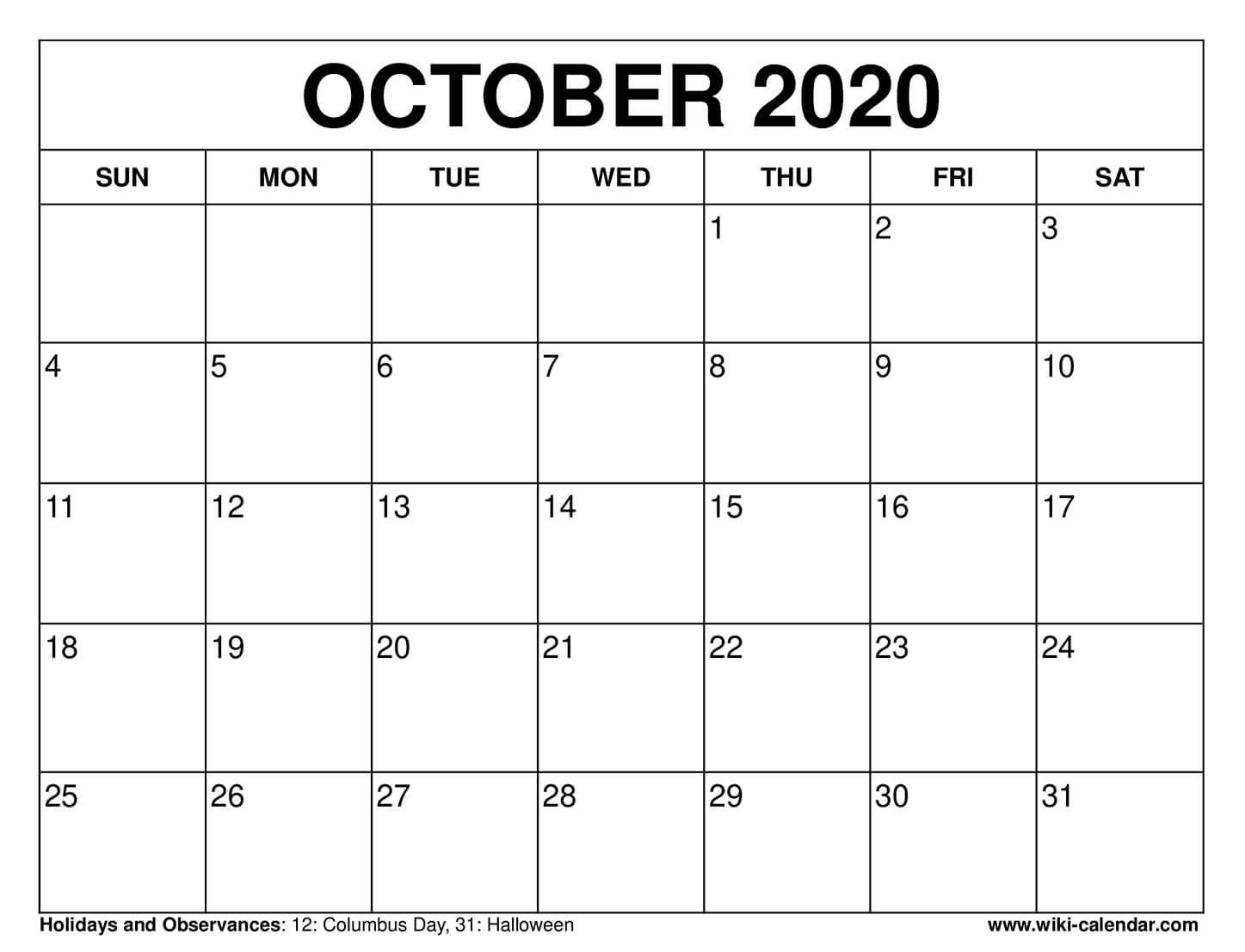 Free Printable October 2020 Calendars General Blue August 2021 Calendar