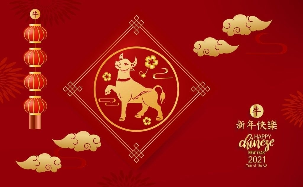 Happy Chinese New Year 2021 Wallpaper In 2020 | Chinese New Year, Happy Chinese New Year July 2021 Chinese Calendar