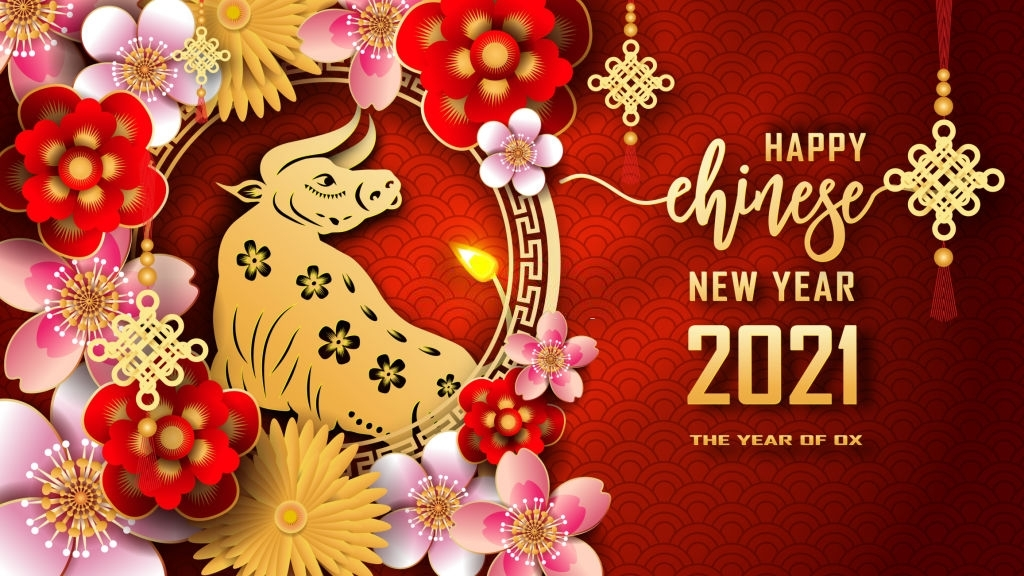 Happy Chinese New Year 2021 Wallpaper In 2020 | Happy Chinese New Year, Chinese New Year July 2021 Chinese Calendar