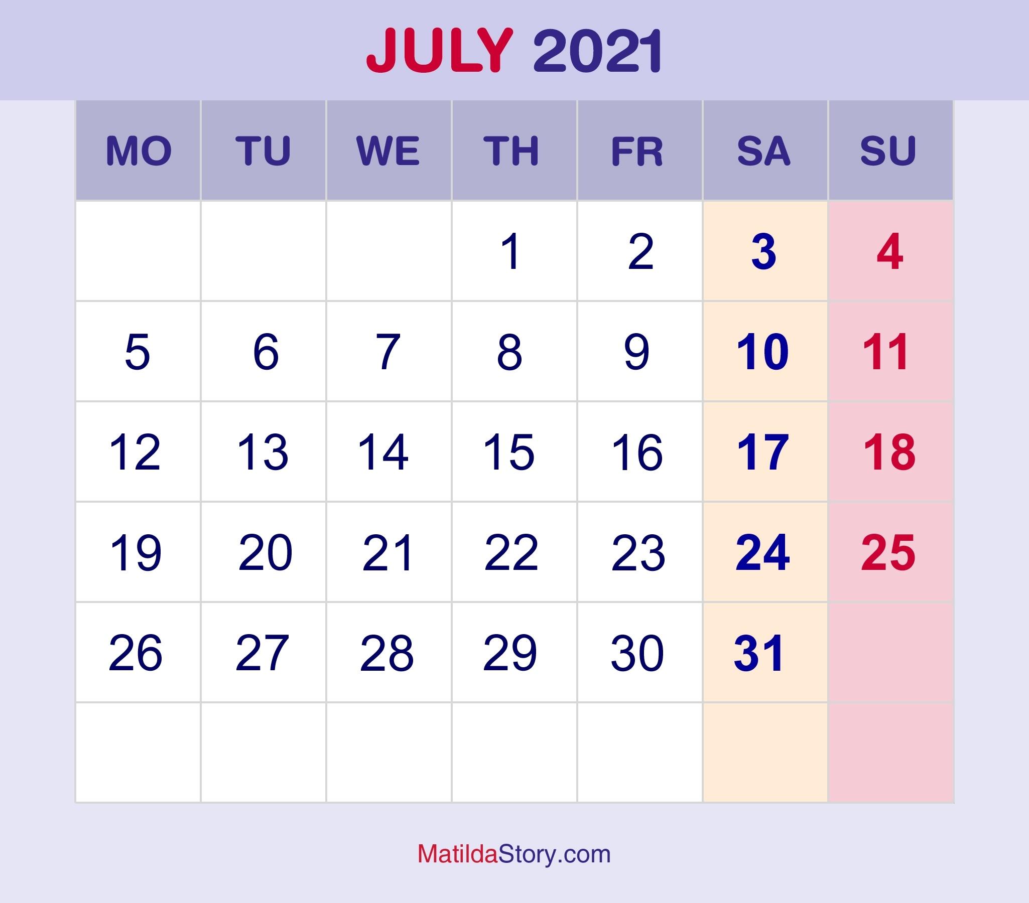 July 2 2021 Calendar   Calendar 2021 February To July 2021 Calendar