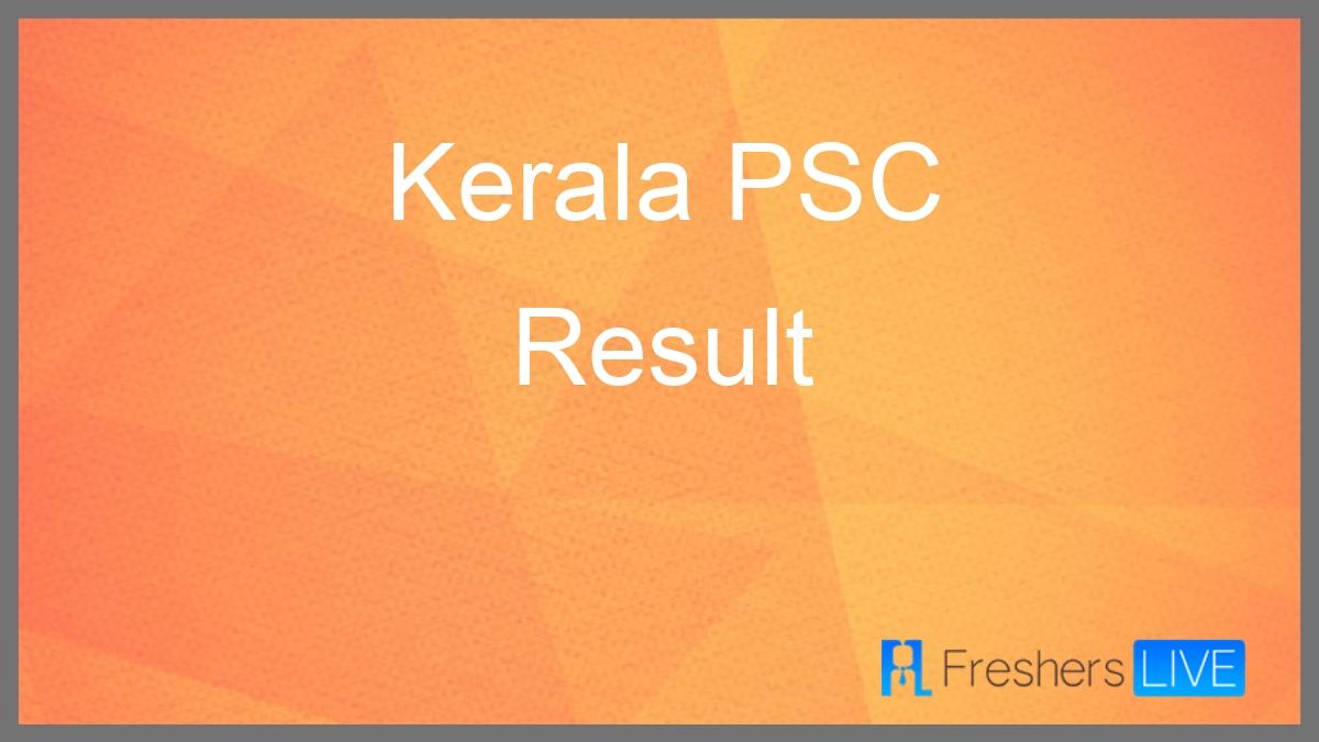 Kerala Psc Assistant Professor Result 2021 Declared At Keralapsc.gov.in Check Kerala Psc Merit Kerala Psc Exam Calendar June 2021