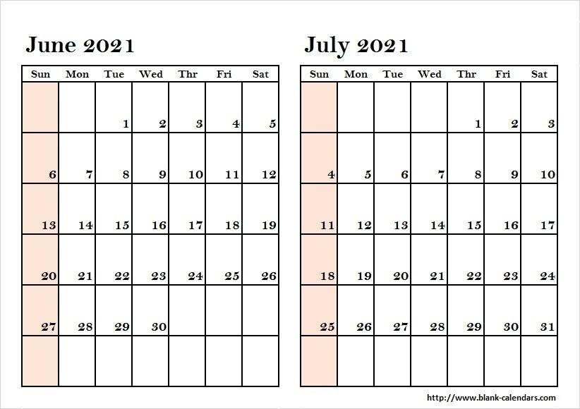 May June July 2021 Calendar   August Calendar, Calendar Printables, Calendar Template February To July 2021 Calendar
