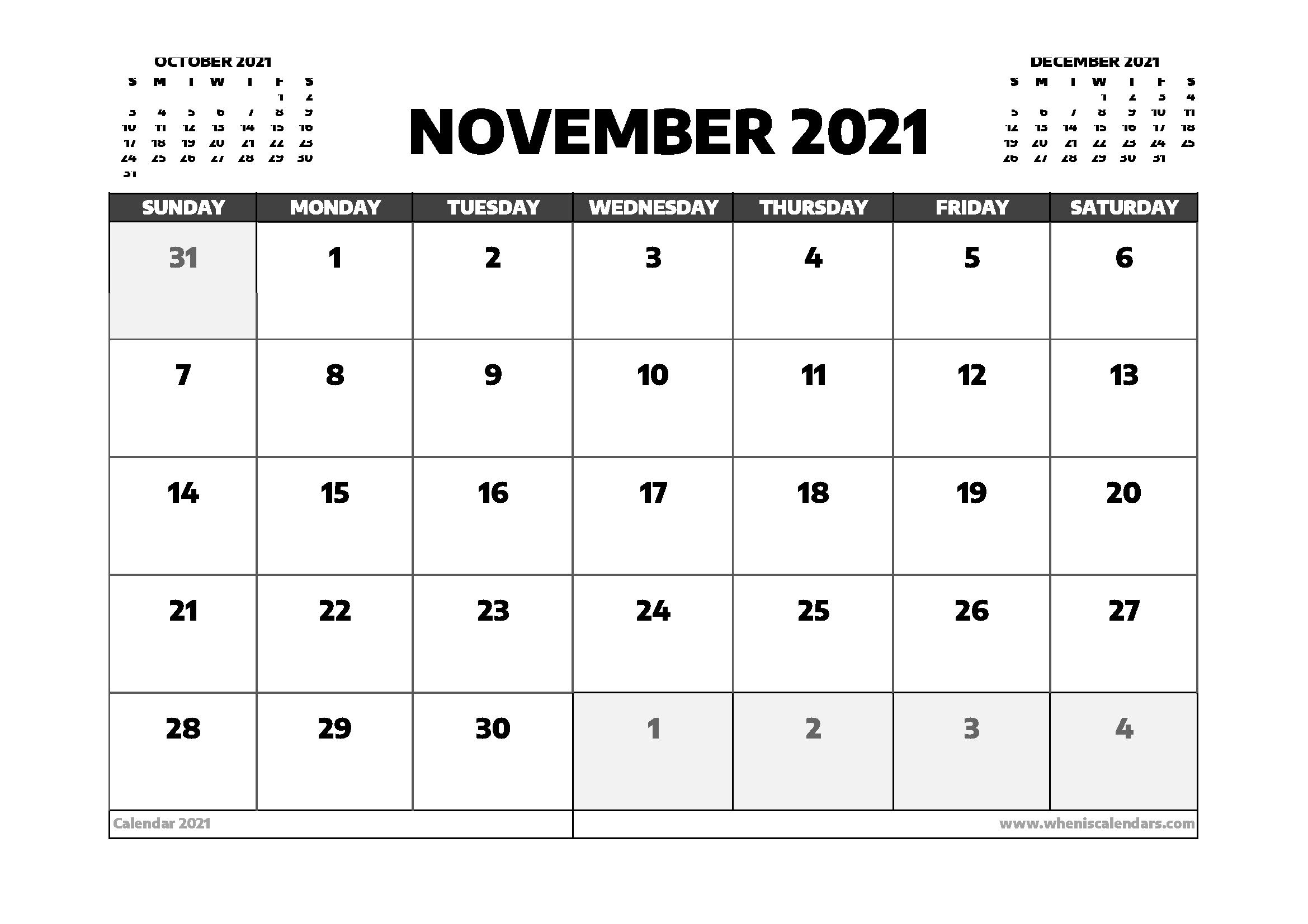November 2021 Calendar Australia | 2021 Calendar Calendar For November 2021 With Holidays