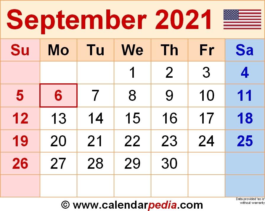 September 2021 Calendar With Notes | Calvert Giving September To December 2021 Calendar
