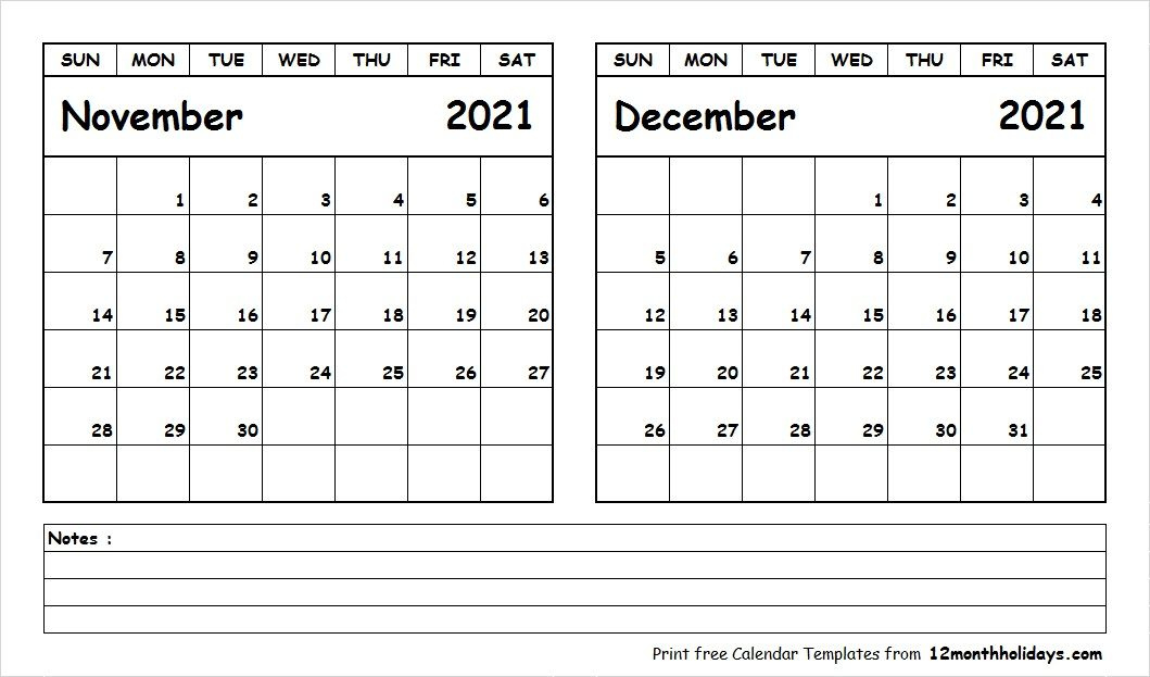 20+ 2021 November Calendar - Free Download Printable Calendar November 2020 Through April 2021